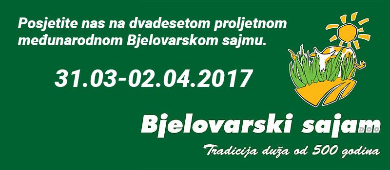 Vujanović Klas na 20. proljetnom međunarodnom Bjelovarskom sajmu